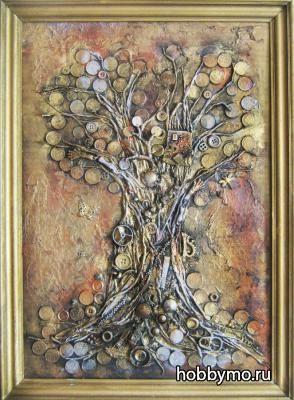 Картина Денежное Дерево (стимпанк)