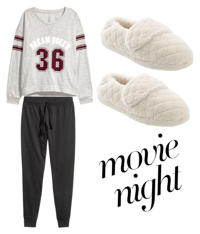 """""""Time to movie night"""" by daniellerose17 on Polyvore featuring Pijama and Acorn"""