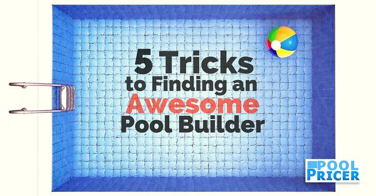 Local pool contractors can be hard to find - and harder to evaluate. Here are a few tips on finding the best pool builders near you.