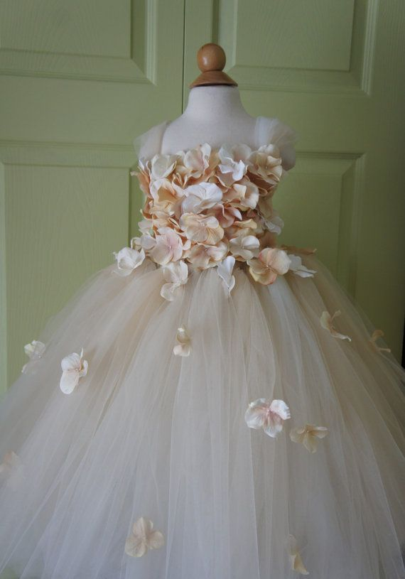 Brings new meaning to a flower girl. Lol. Hey, I found this really awesome Etsy listing at https://www.etsy.com/listing/187175098/flower-girl-dress-champagne-dress