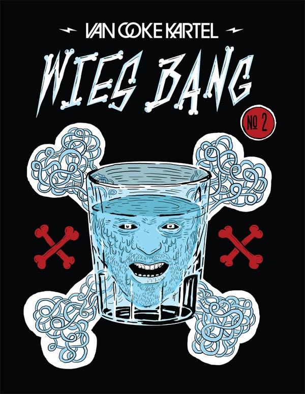 Van Coke Kartel - Wies Bang - Comic by Merwe Marchand le Roux, via Behance