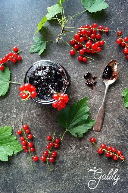 Kulinarne przygody Gatity - przepisy pełne smaku: Dżem  z czerwonej porzeczki