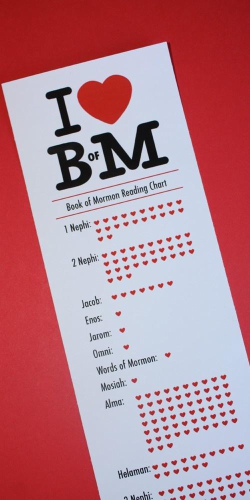 printable bom reading chart
