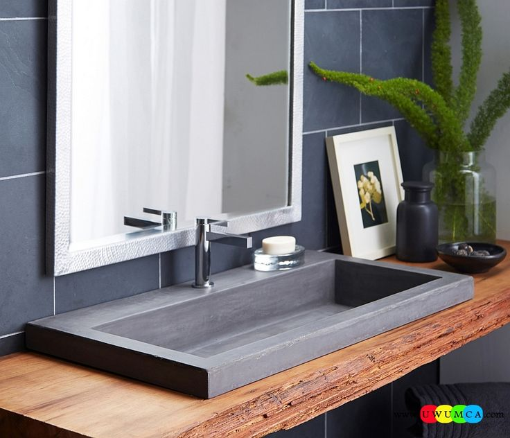 Bathroom:Contemporary Modern Artisan Crafted Sinks Handcrafted Vessel Metal Sink Bathroom Interior Furniture Decor Design Ideas Give Your Home An Elegant And Minimal Sink Eco-Conscious, Artisan Crafted Sinks Sparkle With Contemporary Class