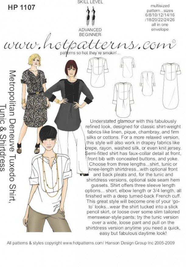 The 62 best Hot pattern images on Pinterest | Sewing patterns ...