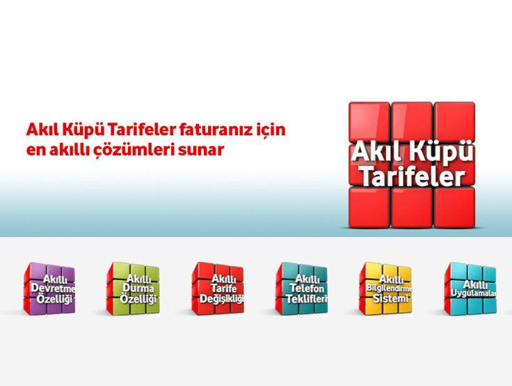 Vodafone Akıl Küpü Tarifeler devretme özelliğinin yanı sıra fiyatlarıyla da dikkat çekiyor. Vodafone Akıl Küpü Tarifeler için tıklayın.