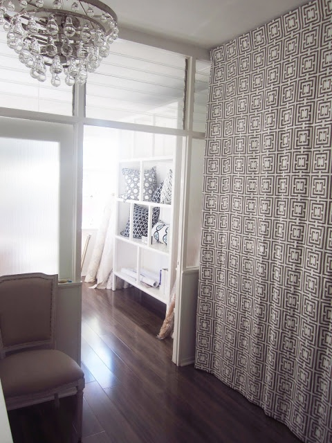 Amazing COCOCOZY Logo Curtain Room Divider At COCOCOZY Office In Beverly Hills.  Hide Storage. Http