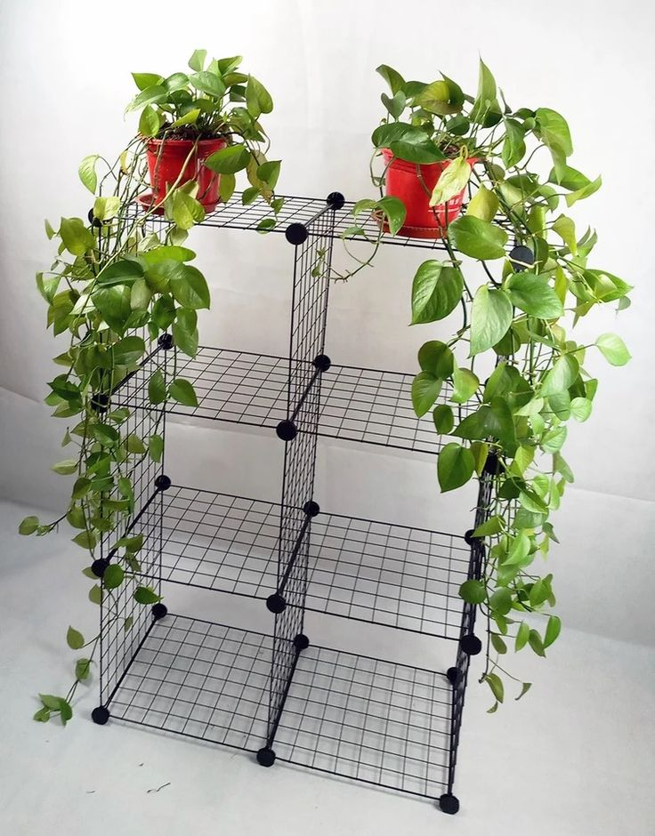 metal display shelves rolling four layers flowerpot 3 tier plant stand