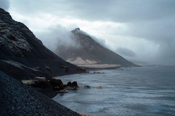 Islande paysage photographie infrarouge de Print - photographie abstraite - montagnes - plusieurs tailles (jusqu'à 16 x 24) sur Etsy, 7,53 €
