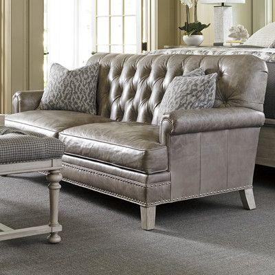 Oyster Bay Hillstead Leather Sofa by Lexington