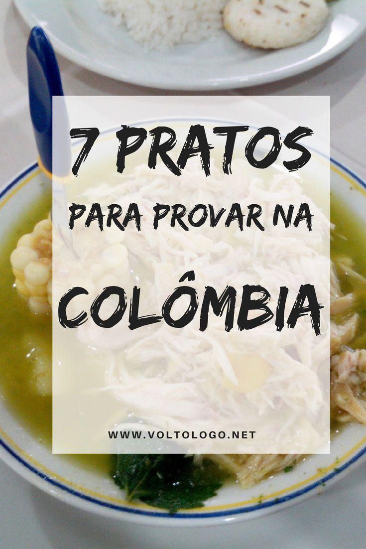 7 comidas típicas para você experimentar em uma viagem pela Colômbia: Arepa, Patacón, Cayeye, Ajiaco e outros.
