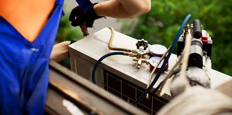 If you skipped the spring checkup, chances are that your #AC isn't cooling as well as it should. You can't do everything; only a professional can check the coolant level.   Call us up and we will fix all your AC system #maintenance problems: 1(800) 454-9998. #hvac #furnace   (pic source: internet)