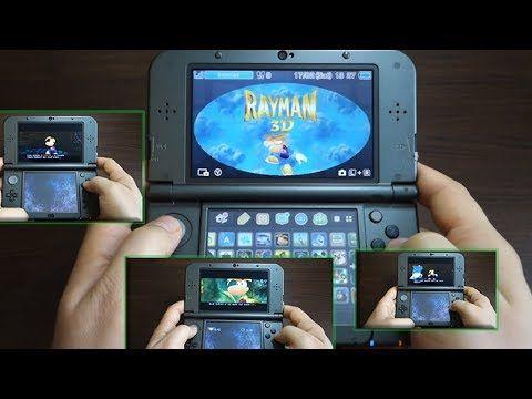 RAYMAN 3D - NINTENDO 3DS XL gameplay - Andrasi.ro