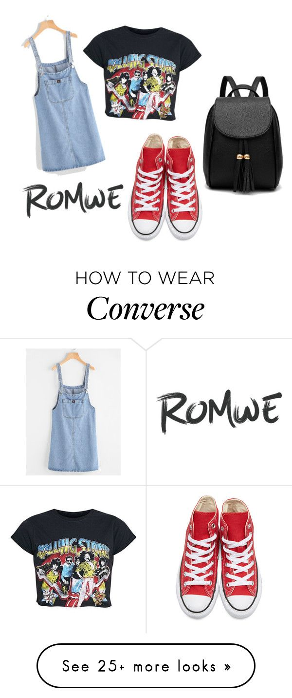 """""""rock concert"""" by bebexx on Polyvore featuring Converse"""
