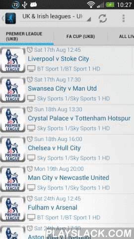 Live Football On TV (Lite)  Android App - playslack.com , This is the free/lite version of Live Football On TV ★GUIDE★ . If you like our work, please Go Pro, and support app development. https://play.google.com/store/apps/details?id=com.visualdesign.livefootballontvThis app is a football TV schedule guide, it is not a streaming service, yet. Please review the app description before rating, thanks :)The Ultimate ★GUIDE★ to Live Football on TV in the UK, Ireland, and across Europe. This app is…