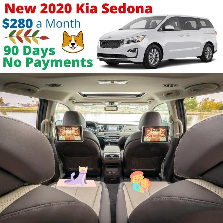 happy first day of fall get into a new kia sedona for only 280 a month 90 days no payments call 800 988 8624 to schedule an a in 2020 kia sedona kia sedona pinterest