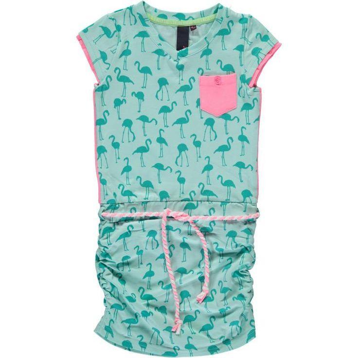 B.NOSY jurk Flamingo (mint)