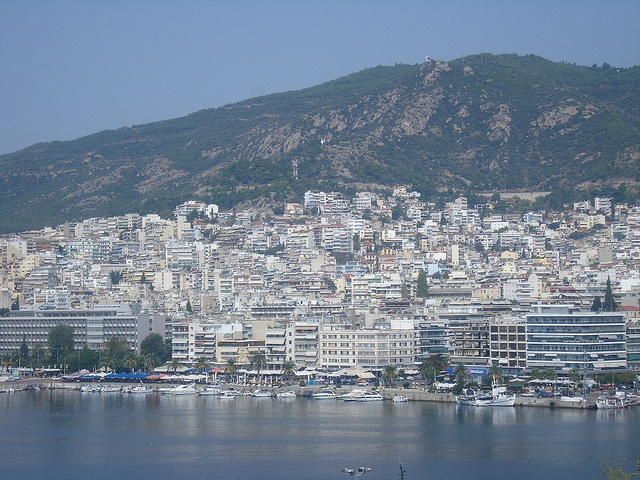 Kavala City, #Thassos Island #Greece.... Pictures don't do it any justice