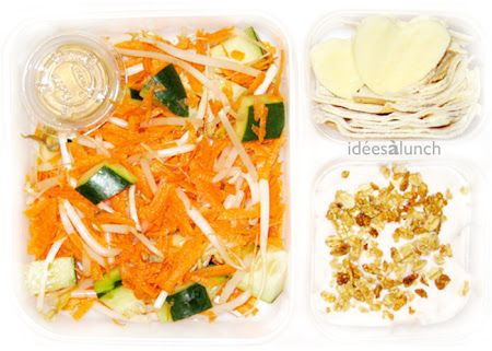 Idées à lunch: Autres salades/Other salads
