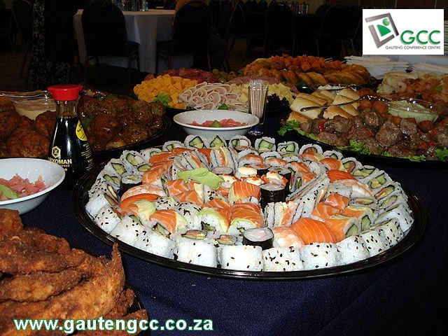 Snack Platters at Gauteng Conference Centre