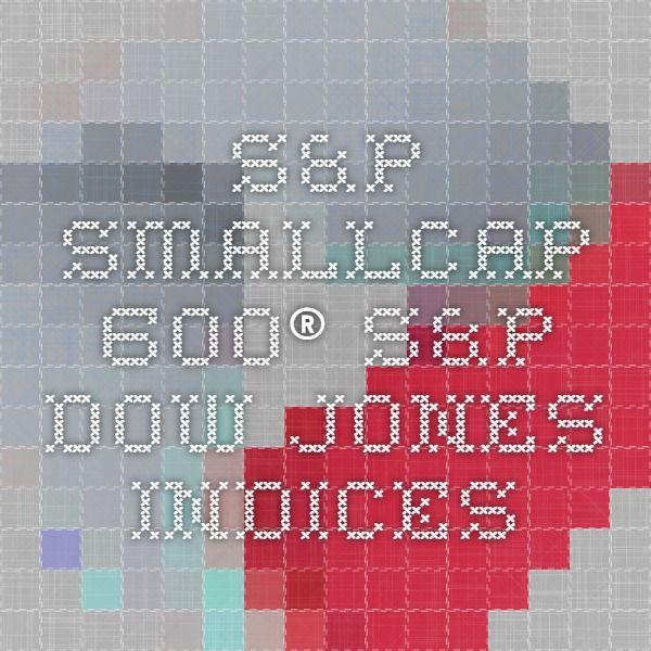 S&P SmallCap 600® - S&P Dow Jones Indices