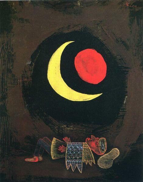 Paul Klee, Strong Dream, 1929 on ArtStack #paul-klee #art: