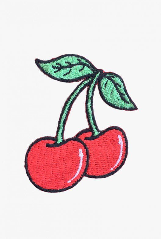 Cherry Patch pins >> hard enamel pin >> soft enamel pin >> lapel pin >> embroidery >> embroidered patches >> iron on patch >> sew on patch >> style >> fashion >> cute >> hipster >> tumblr