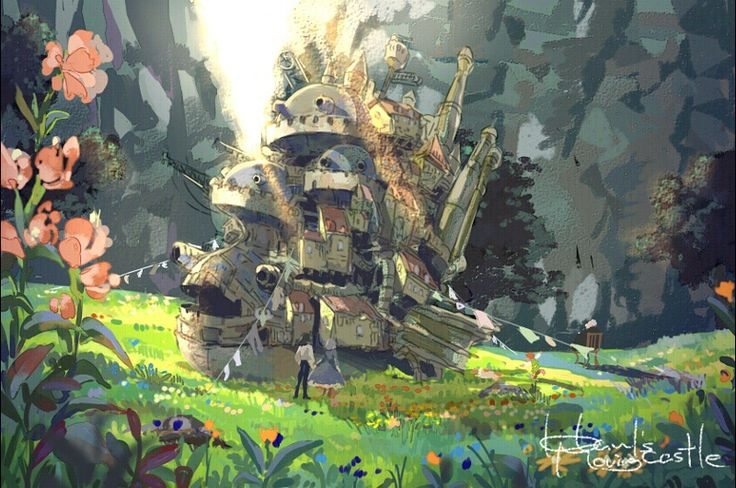studio ghibli concept art - Google Search