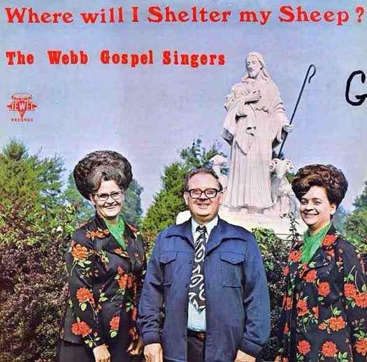 I'd suggest the ladies' hair and the guy's ill-fitting leisure suit for a start...