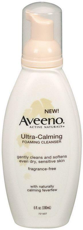 Aveeno Ultra-Calming Foaming Cleanser | Ulta Beauty #acnecleanser