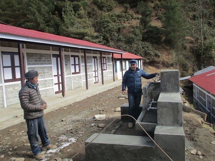 The Himalayan Trust has built a safe water supply at Pike school.
