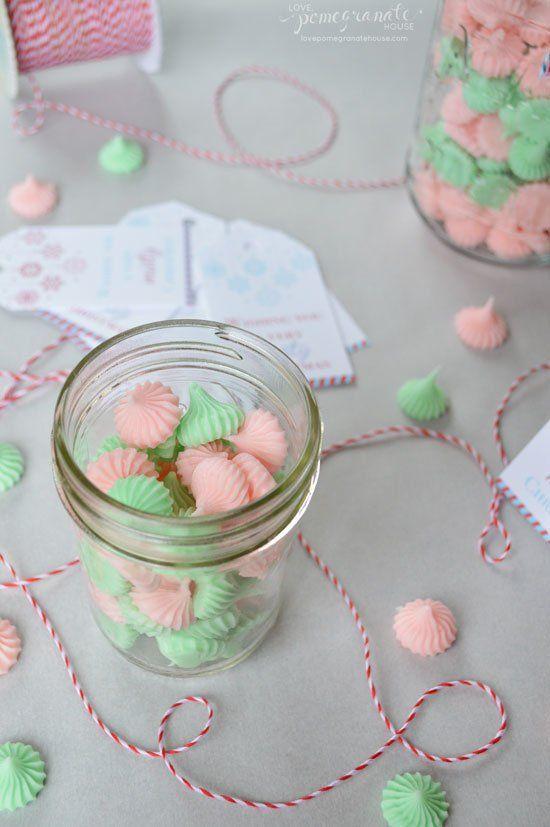 Sweet Christmas gift for neighbors! Make Cream Cheese Mints.