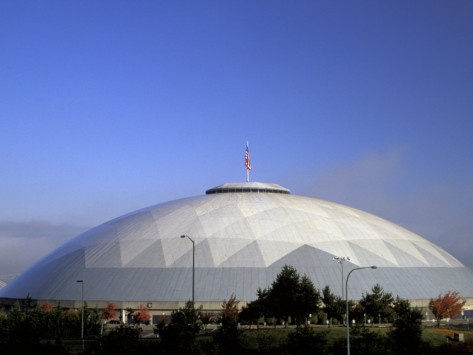 The Tacoma Dome -- Tacoma, Washington. The first time my husband and I were ever in each other's company, was in here! (We didn't actually meet until almost 20 years later...)
