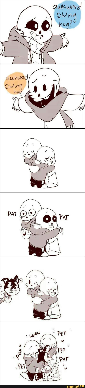 undertale, papyrus, sans, doggo--I love how this fandom and the Gravity Falls fandom are so friendly.
