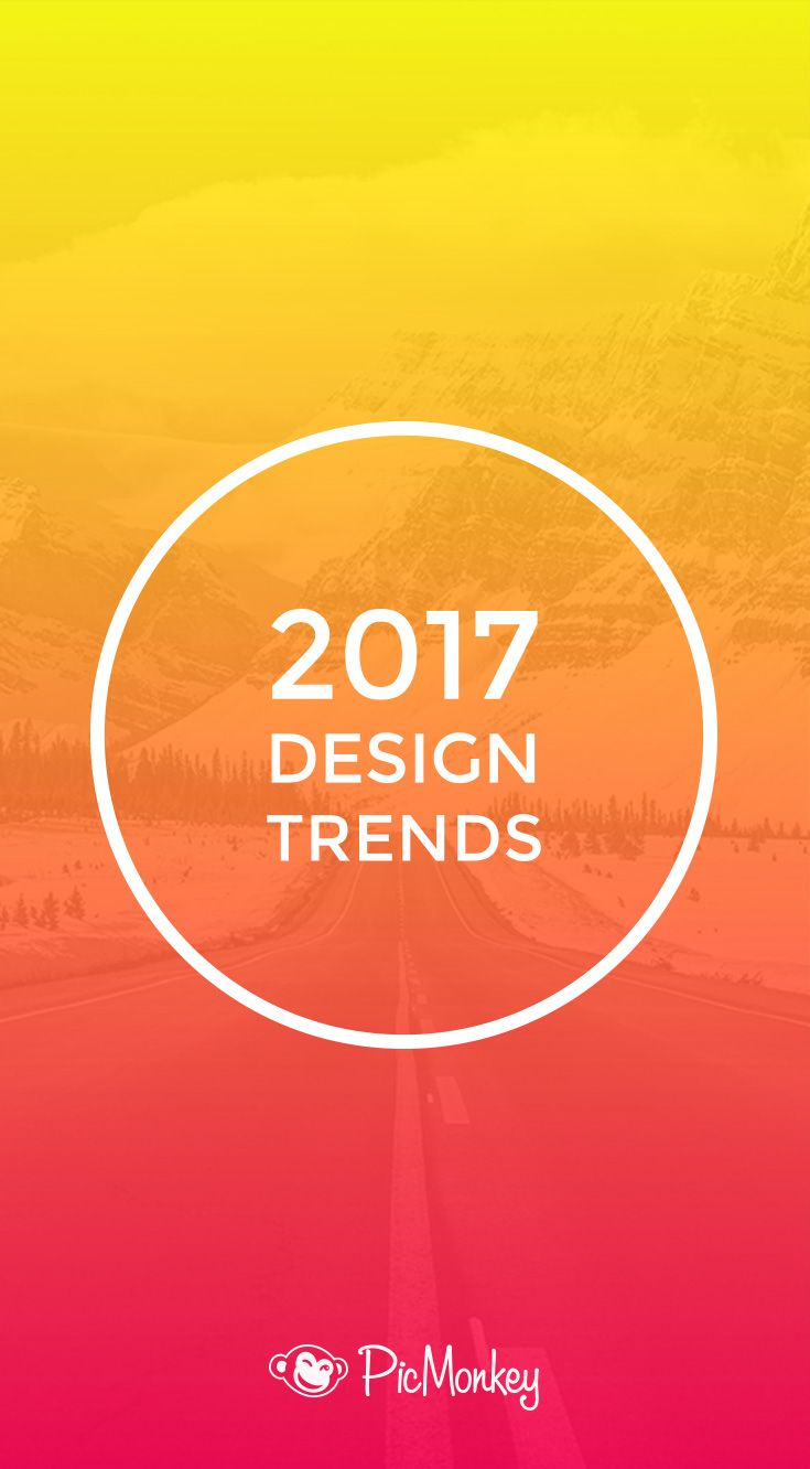 We proudly present *the* definitive list of design trends to watch for in 2017. We're talking bold colors, patterns, and a generous dose of '90s nostalgia.