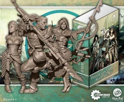 Steam Forge Games - GuildBall: Fisherman: Starter Set #STFBFIS01-001