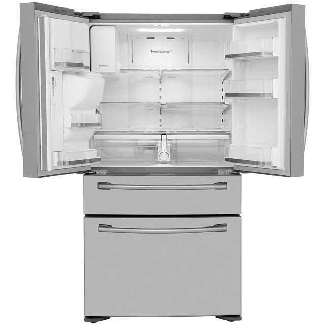 samsung rf24hsesbsr american fridge freezer stainless steel
