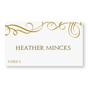 wedding place card template download instantly editable elegant swirls gold foldover microsoft word format works wi table and place cards