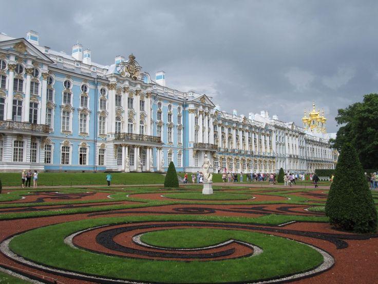 Palacio de Catalina, San Petersburgo - http://www.absolutrusia.com/palacio-de-catalina-san-petersburgo/