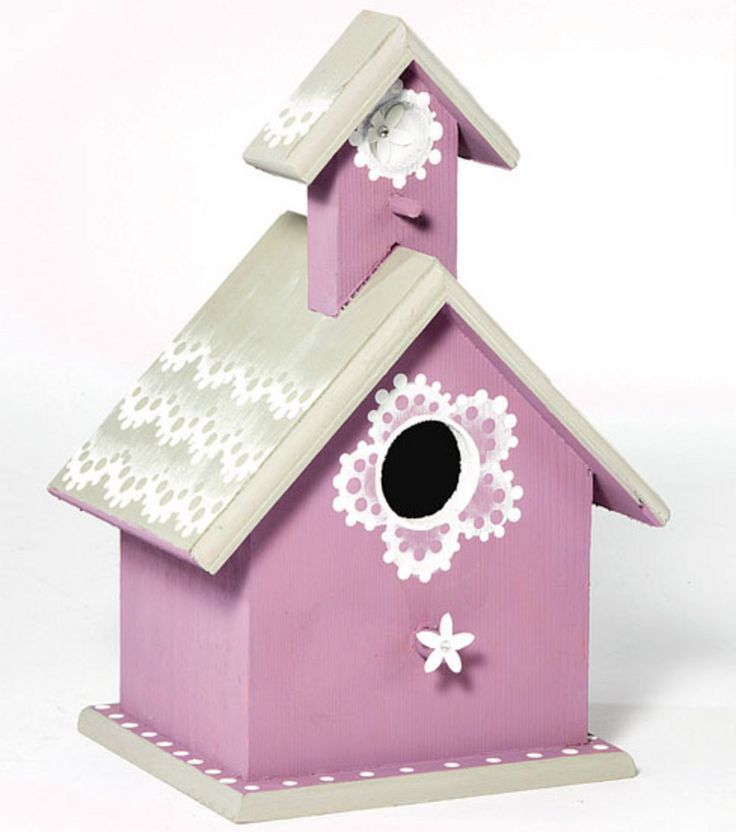 radiant orchid birdhouse radiant orchid home decor from jo ann fabric and craft stores. Black Bedroom Furniture Sets. Home Design Ideas