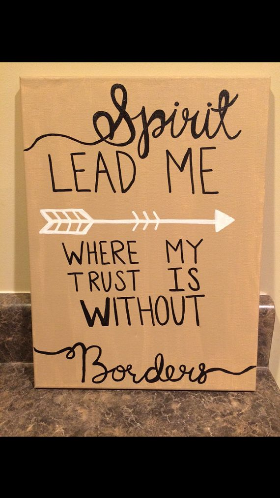 Canvas painting with inspirational bible verse by CustomCanvasOfSC, $30.00