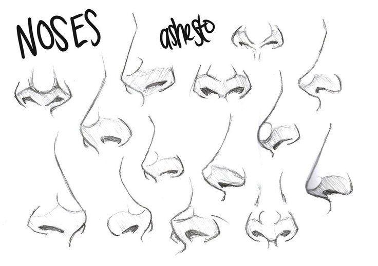 Рисуем нос [туториал] – 59 фотографий