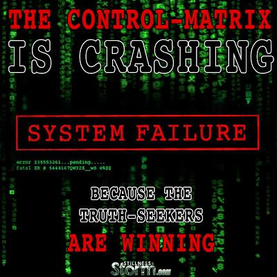 Stillness in the Storm : The Control-Matrix is Crashing because the Truth-S...