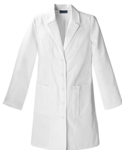 WHITE-LAB-COAT-MEDICAL-DOCTOR-TECHNICIAN-FOOD-COAT