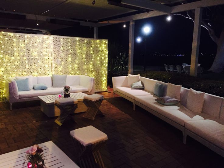 Lounges on the Wine Room Terrace
