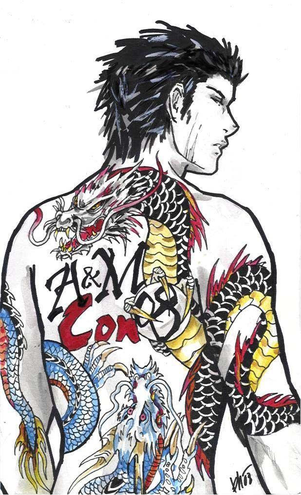 Yakuza Tattoo Design Wallpaper 15