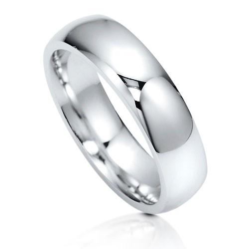 Обручальное классическое облегающее кольцо из стерлингового серебра UAH 445.03