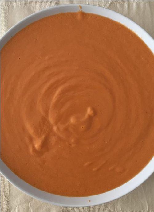 Salmorejo light con Manzana para #Mycook http://www.mycook.es/cocina/receta/salmorejo-light-con-manzana
