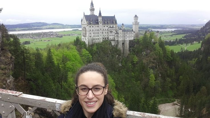 Io al Castello di Neuschwanstein