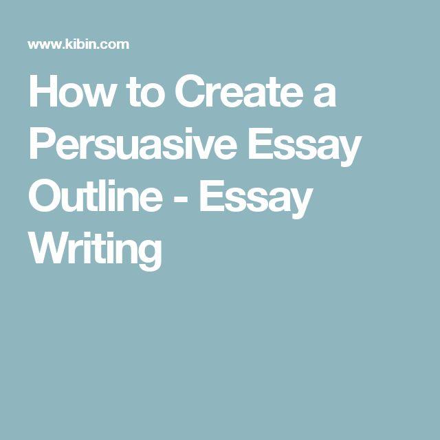 ideas for persuasive essays